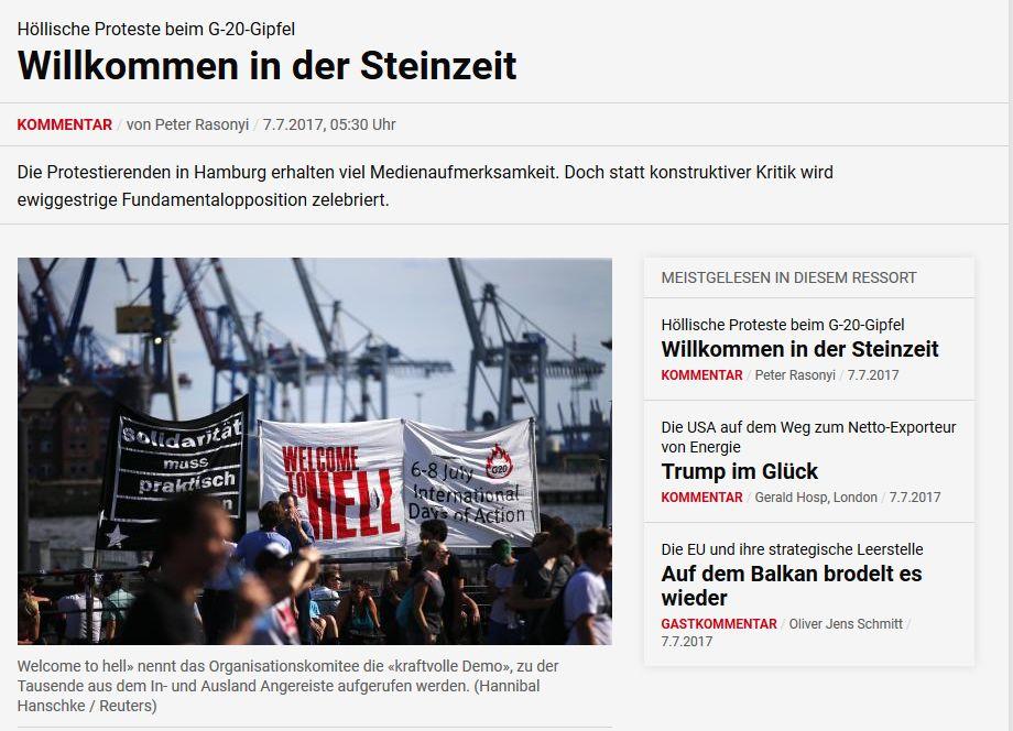 nzz.de vom 7. Juli 2017