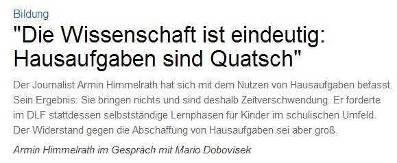 Deutschlandfunk vom 21. Dezember 2015