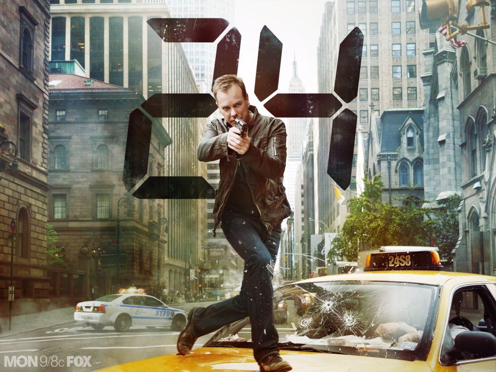 """In der Serie """"24"""" verübt der Spezialagent Jack Bauer regelmäßig Selbstjustiz und foltert auch mal Gefangene. Ganz im Zeichen des """"war on terror""""."""