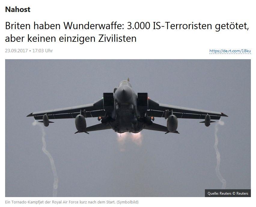 RT Deutsch vom 23. September 2017