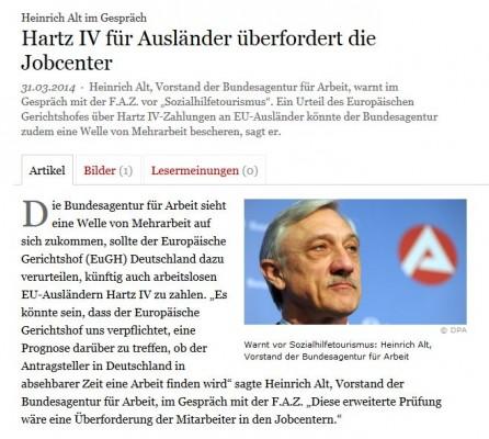 """Herr Alt mit Schnauzer und der Begriff """"Ausländer"""" im Titel. Zufall oder Bild-Inszenierung?"""