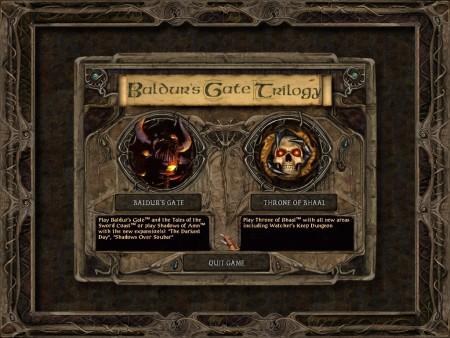 """Via Mod """"Baldur's Gate Trilogy"""" Baldurs Gate 1+2 mit allen Add-ons zu einem großen Spiel machen."""