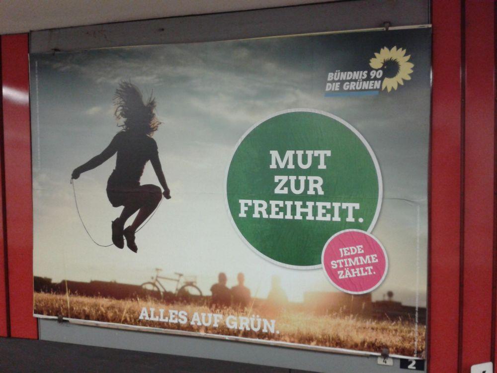"""""""Freiheit"""" im Sinne von schwarz-grüner Koalition auf Bundesebene?"""