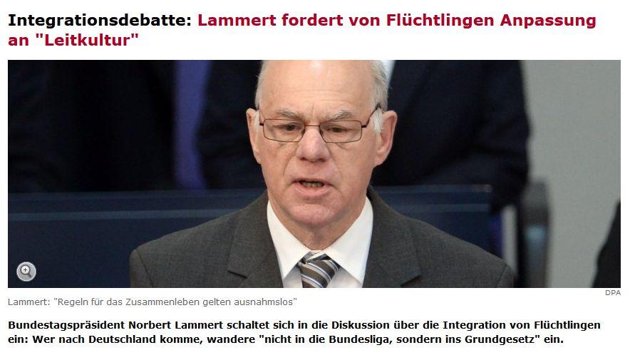 Spiegel-Online vom 15. Oktober 2015 (ohne link)