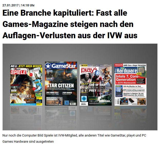 meedia.de vom 27. Januar 2017