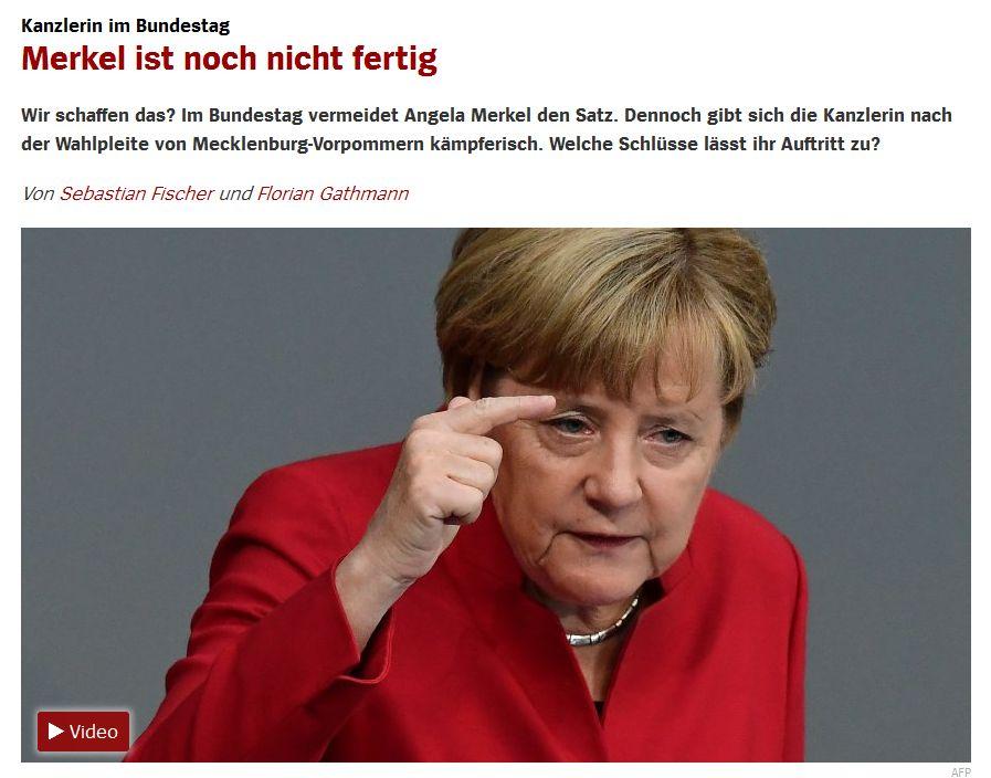 Spiegel Online vom 7. September 2016
