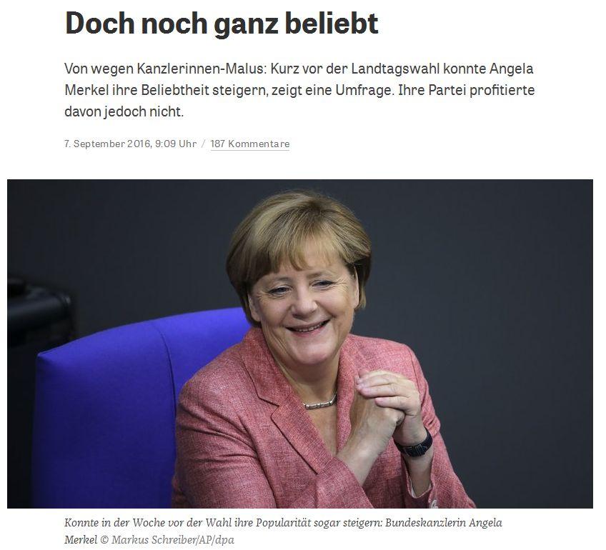 zeit.de vom 7. September 2016
