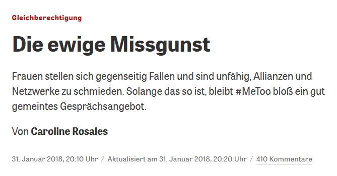 zeit.de vom 31. Januar 2018
