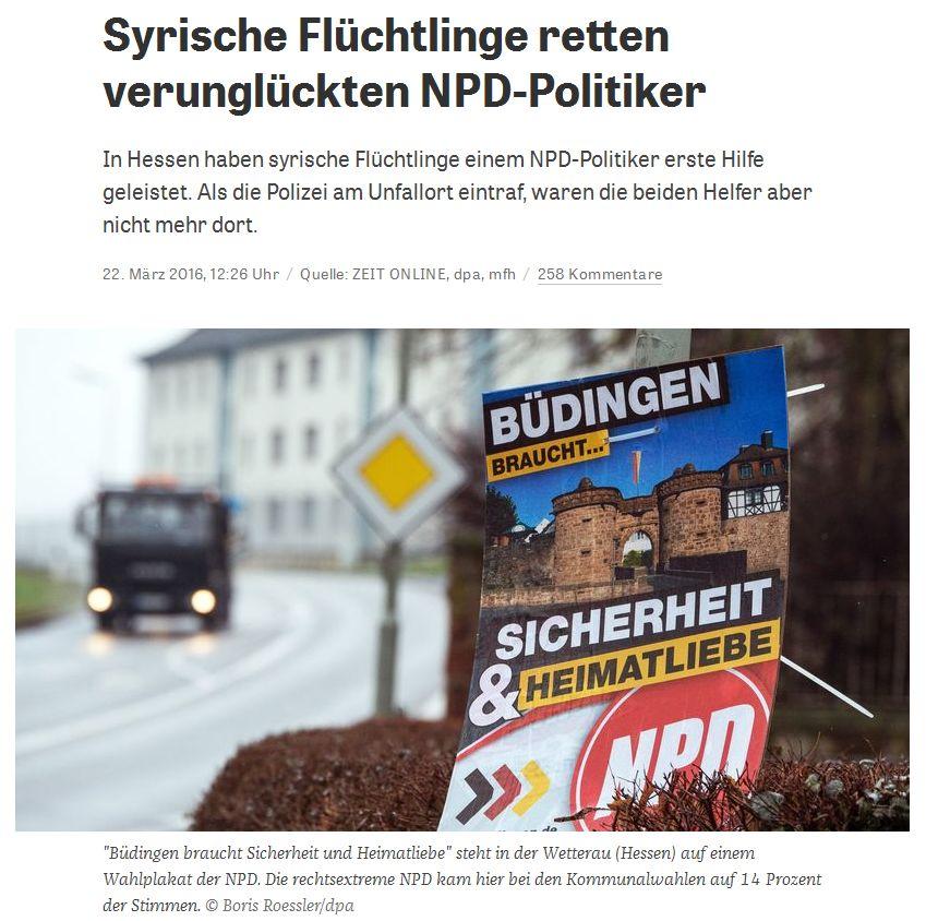 zeit.de vom 22. März 2016