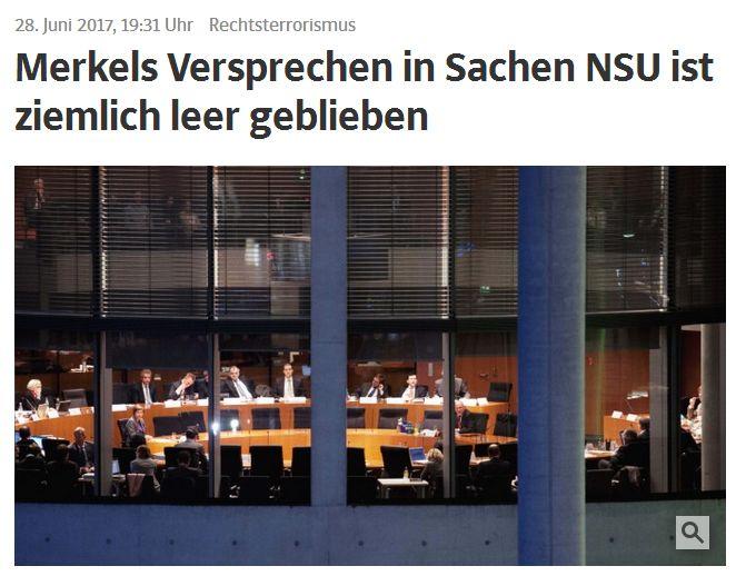 sueddeutsche.de vom 28. Juni 2017