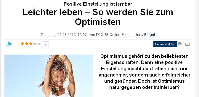 focus.de vom 6. August 2013