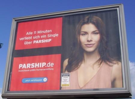 Parship Werbung
