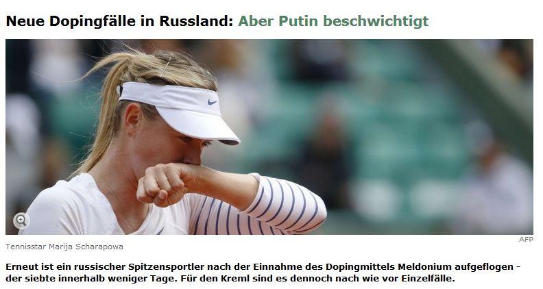 Spiegel Online vom 9. März 2016