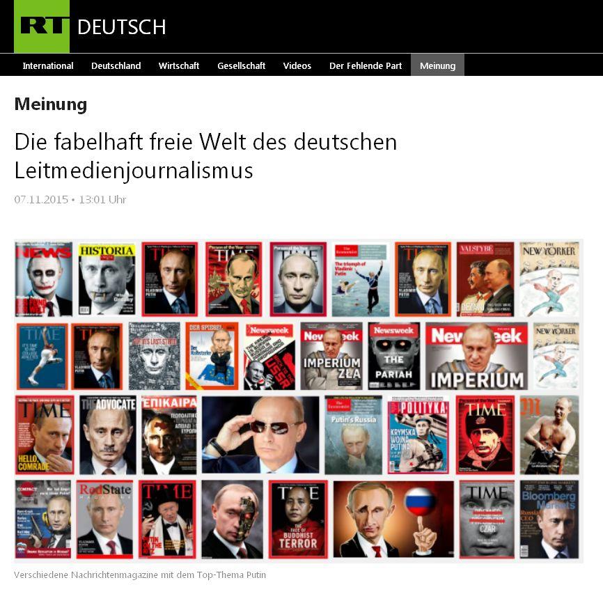 RT Deutsch vom 7.11.2015