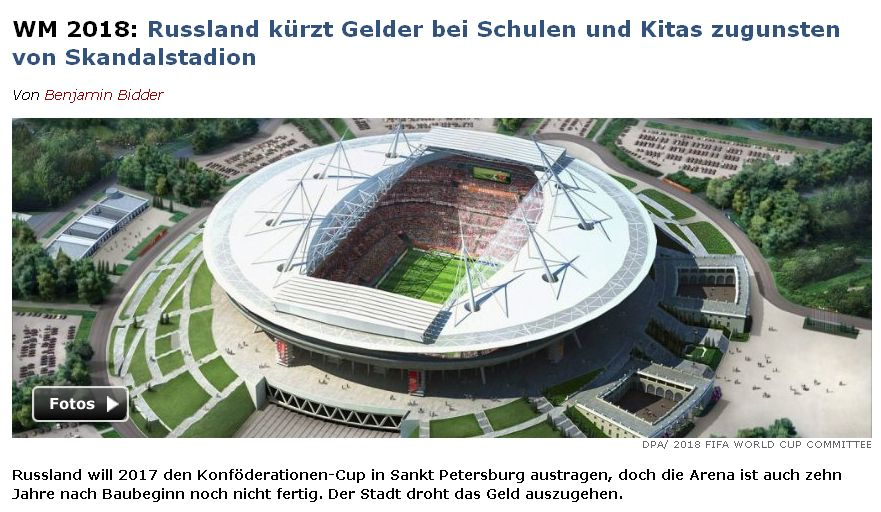 Spiegel Online vom 25. August 2016