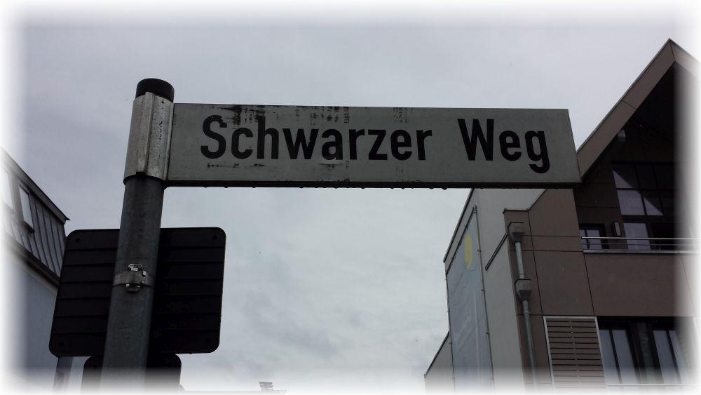 Wohin der wohl führt?