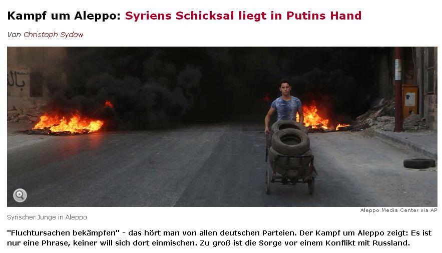 Spiegel Online vom 4. August 2016