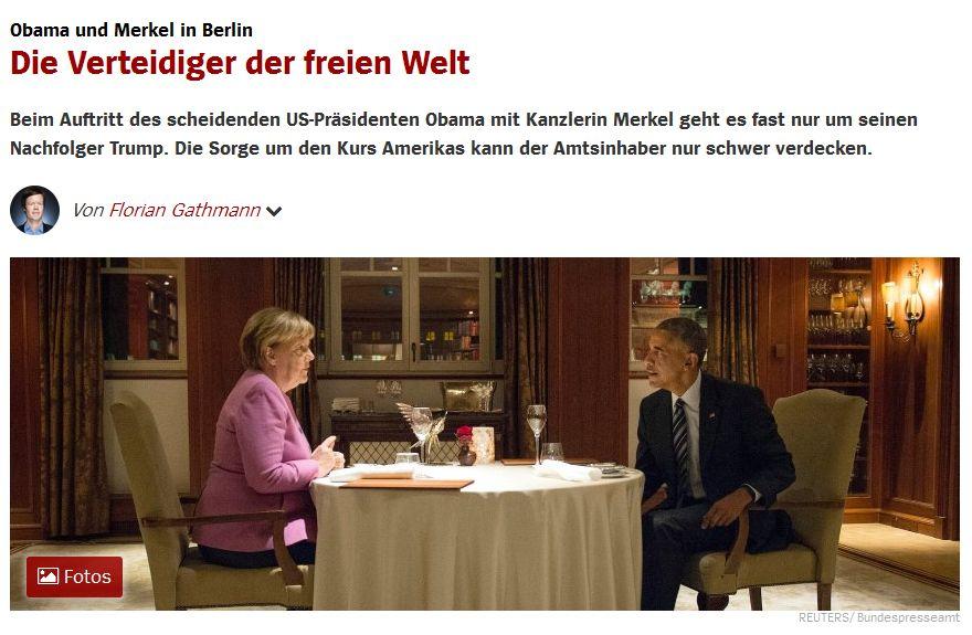 Spiegel Online vom 18. November 2016