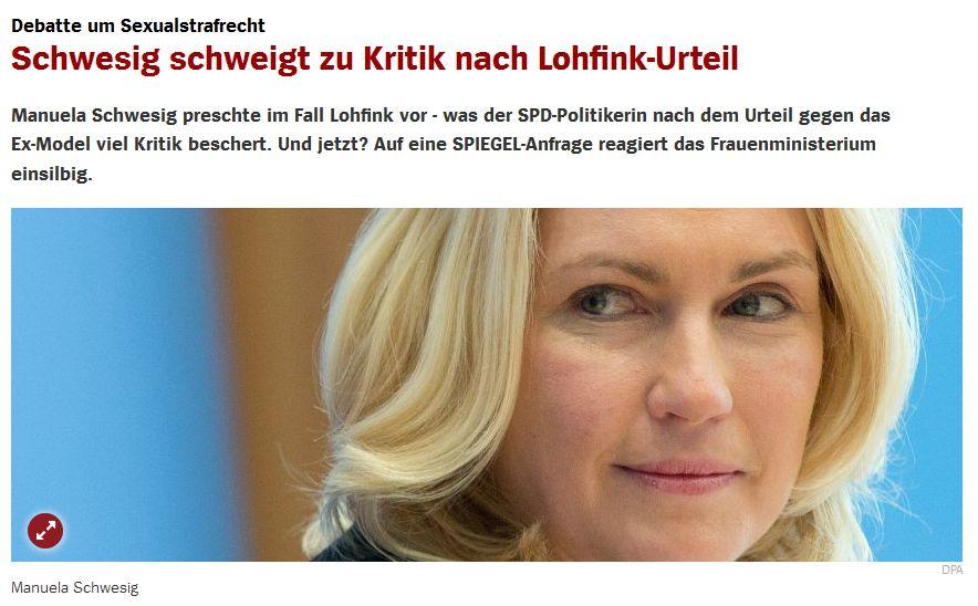 Spiegel Online vom 26. August 2016
