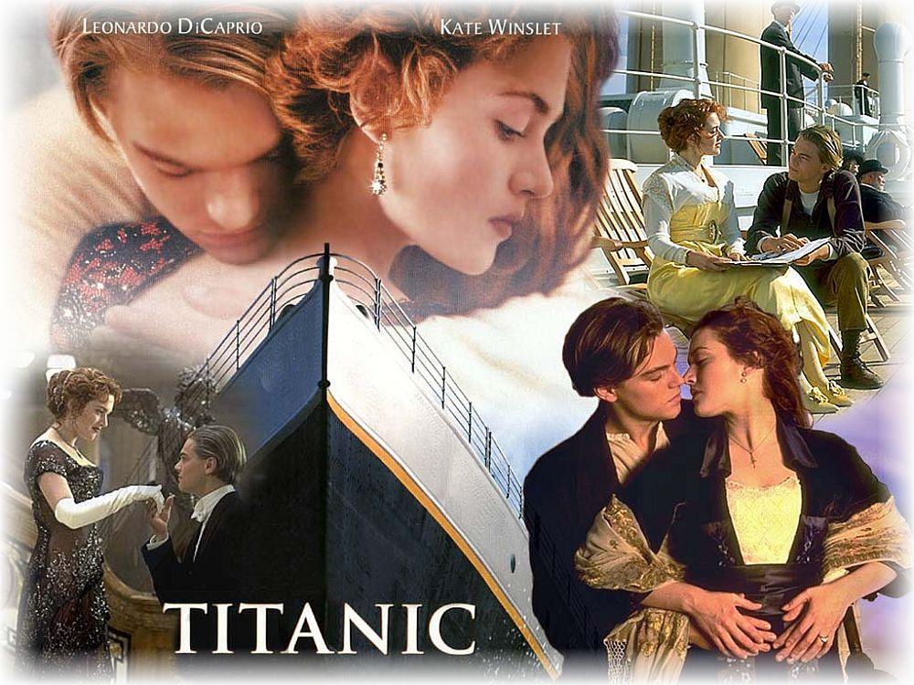 """Die US-Blockbuster-Liebesschmonzette """"Titanic"""" aus dem Jahr 1997 hat weltweit fast 2 Milliarden Dollar eingespielt und gewann elf Oscars."""