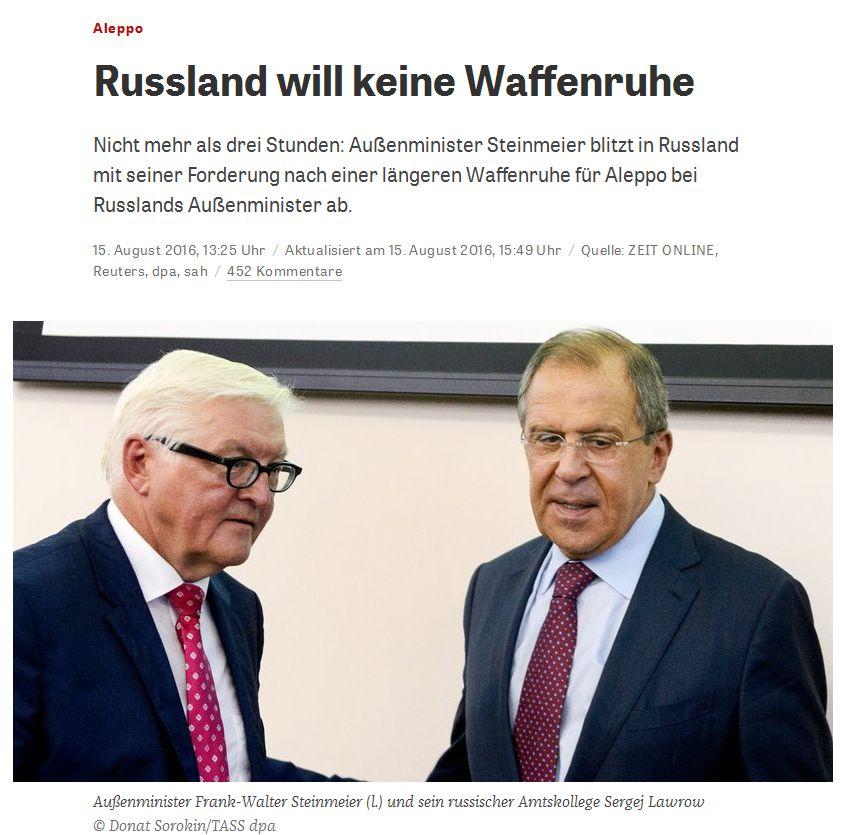 zeit.de vom 15. August 2016
