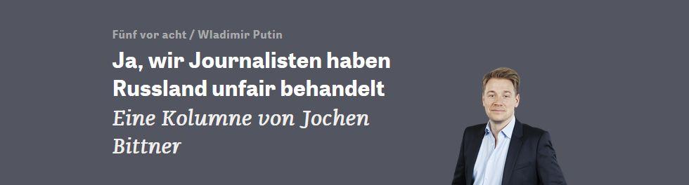 zeit.de vom 13. Oktober 2016