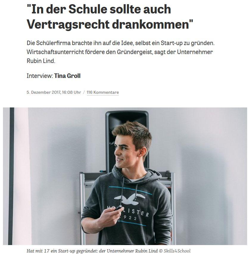 zeit.de vom 5. Dezember 2017